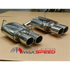 MAXSPEED  Endschalldämpfer L/R STI 2014