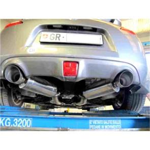 Maxspeed Exhaust Cat-Back Nissan 370Z