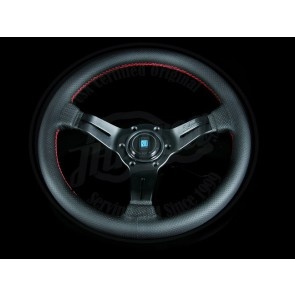 Nardi Steering Wheel 350mm Black Leather