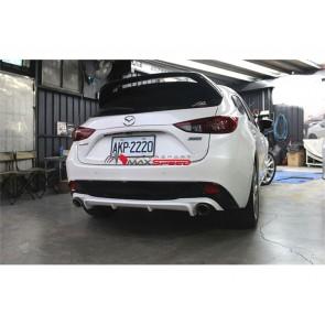 Mazda 3 Raer Diffusor 2015/17
