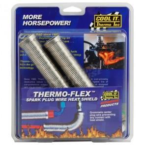 THERMO-TEC THERMO-FLEX 2 PIECE PLUG WIRE HEAT SHIELD